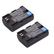 (แพ็คคู่2ชิ้น) แบตเตอรี่กล้อง รหัสแบต LP-E6LPE6 2650mAh แบตกล้องแคนนอนfor canon EOS 5D MK III 5D MK II 6D 7D 70D 60D(black)