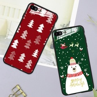 Tempered Glass Case OPPO R11 Plus R11s Plus R11s R11 Christmas Hard Casing