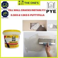 [READY STOCK] PYE E-Putty Filla | Wall Crack | Gap Dempul | Dinding Batu | Plaster Partition | Putty Filler | Exterior