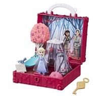 P-現貨‼️【FROZEN 冰雪奇緣】迷你公主❤️可攜帶式基本場景遊戲組