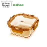 7.23 _ Corning Tableware Snapware Heat Resistant Glass Crisper Microwave
