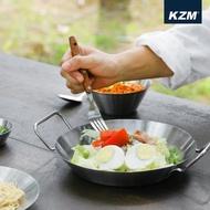 【KAZMI】KZM 304不鏽鋼雙耳圓盤