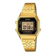 Casio Standard นาฬิกาข้อมือผู้หญิง สายสแตนเลส รุ่น LA680WGA,LA680WGA-1(CMG) - สีทอง