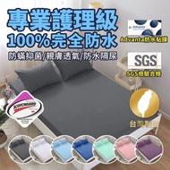 【藍貓BlueCat】護理級100%完全防水保潔墊(雙人特大6*7)