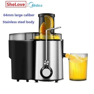 Midea Multifunctional Stainless Steel Juicer Fruit Extractors WJE2802D