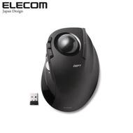 ELECOM 無線中指軌跡球滑鼠-黑