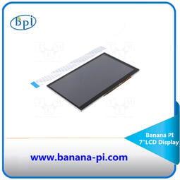 免運 熱銷七寸LCD觸摸屏觸摸展示屏香蕉派Banana PI樹莓派適用
