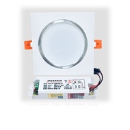 One Light Square Shape LED Downlight with Emergency Function LED Indoor Light 3W 5W 7W 9W 12W 15W 18W Emergency Downlight