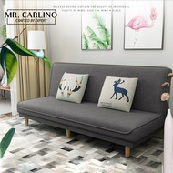 Mr. Carlino: โซฟา โซฟาปรับนอน โซฟาทรูอินวัน คุณภาพดี (2 in 1 Living Room Foldable SHELBIE SOFA BED)