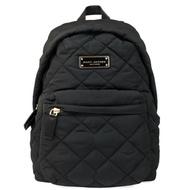 Marc Jacobs 黑色菱格紋後背包