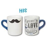 柔柔微風餐具批發-【附發票】K-AI LOVERS MUG HIS&HERS 馬克杯/咖啡杯/對杯/情侶/茶杯/禮物