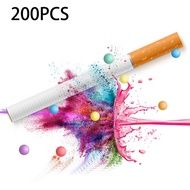 200pcs/pack Flavor Cigarette Pops Beads Fruit Flavour Mint Flavor Cigarette Holder Smoking Accessories Men Gift Cigarette Holder