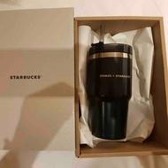 Starbucks x Stanley แก้วสตาบัค x สแตนเล่ย์ สีดำของแท้ขนาด 20 ออนซ์