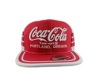 Coca-Cola Enjoy USA Vintage Trucker Cap Snapback Cap 3 Stripes