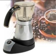 คุณภาพดี เครื่องทำกาแฟ Moka pot ใช้ ไฟฟ้า ***สินค้าพร้อมส่ง*** ใครยังไม่ลอง ถือว่าพลาดมาก !!