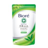 蜜妮Biore 淨嫩沐浴乳 抗菌清爽型 靜岡綠茶香-補充包(700ml)