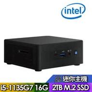 【Intel 英特爾】NUC平台【FINUC11PAHi50006】Intel四核心 SSD高速迷你電腦