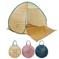 【日本BISQUE】ZELT 北歐風抗UV野餐秒開帳篷 共3色《屋外生活》