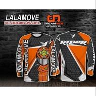 Rider's Longsleeve Jersey (Lalamove, Grab, Angkas, Food Panda, Mr. Speedy,