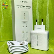 Travel Charger Oppo Super Vooc 65w Type C Original