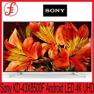 Sony TV Android KD-43X8500F LED 4K Ultra HD High Dynamic Range (HDR) Smart TV