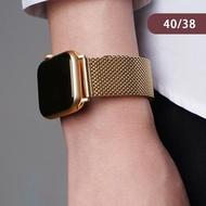 【吉米3C】Apple watch 米蘭式 橢圓扣 錶帶 不鏽鋼 磁力吸附 1/2/3/4/5代(40mm/38mm  限量加贈 手錶支架)