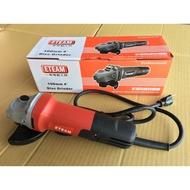 [阿砂力]ETEAM平面砂輪機-ET100E 手提角度砂輪機 手提圓盤電磨機 電動工具 切割機 研磨機 磁磚 鐵工 水電