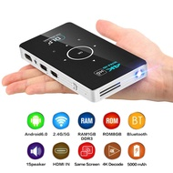 c6 Mini 4K HD Projector 1080P With Bluetooth Wifi Android 5.1 Smart DLP Projectors
