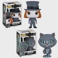 Disney Alice In Wonderland บ้าหมวก Cheshire Cat PVC รุ่น Garage Kit ตุ๊กตาไวนิล Action Figure Collection ของขวัญของเล่นวันเกิด