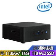 【Intel 英特爾】NUC平台【FINUC11PAHi50005】Intel四核心 SSD高速迷你電腦