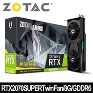 ZOTAC 索泰 GAMING GeForce RTX 2070 SUPER Twin Fan 顯示卡