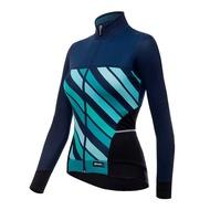 Santini 珊瑚二代女性刷毛長袖車衣 《新店美利達旗艦店》
