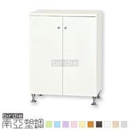 【Birdie南亞塑鋼】2.1尺二門浴室塑鋼收納櫃/廚房防水收納櫃(17G7CB02320055)