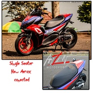 New aerox connected Sporty style Single seat, New aerox and NVX seat Cover