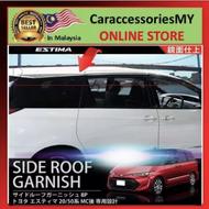 Toyota Estima Side Roof Garnish stylish chrome decoration -8pcs TE-112 acr30 acr50 accessories chrome body kit