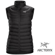 【ARCTERYX 始祖鳥 加拿大】Cerium LT 羽絨背心 羽絨外套 冬季保暖外套 女款 黑色 (L07288600)