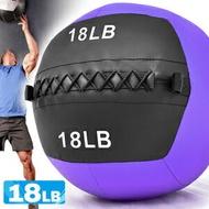 負重力18LB軟式藥球(8KG舉重量訓練球wall ball.壁球牆球沙球沙袋沙包.非彈力量健身球抗力球韻律球.復健球實心球.不穩定平衡訓練.運動器材.推薦哪裡買ptt)C109-2318