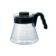 日本公司貨 Hario VCS-02B 黑色微波耐熱咖啡壺 450ml /700ml/1000ml