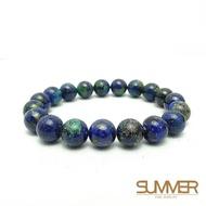【SUMMER 寶石】藍銅礦手珠(A164)