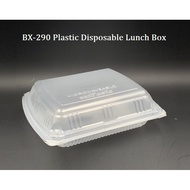 BX-290 Plastic Disposable Lunch Box / Big PP Lunch Box/ Food Container (±50pcs)