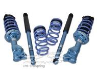 阿宏改裝部品 CIVIC 8代 K12 KYB NEW SR 藍桶 避震器 + TS 短彈簧 TRIPLE S 總成