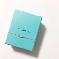 Tiffany micro 18k 微笑項鍊