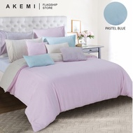AKEMI Tencel Touch Clarity - Diletta (Pastel Blue / Quilt Cover Set)