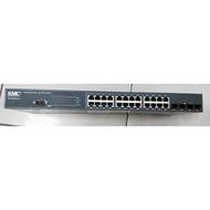 SWITCH  SMC  8024L2  D-link  DGS-1210-52port     24port 二手