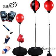 速度球立式拳擊沙袋包體育用品兒童成人健身拳擊發泄球不倒翁XW