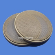 """For 6.5"""" inch Car Audio Speaker Conversion Net Cover Subwoofer Decorative Circle Metal Mesh Grille 183mm #Beige"""