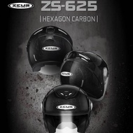 『EN安全帽』ZEUS 625 六角碳纖 碳纖維 3/4 安全帽 Carbon 超輕量 限量 ZS-625