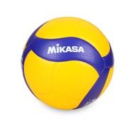 【MIKASA】超纖皮製練習型排球 #5-5號球 FIVB指定球(V300W)