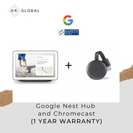 [EXCLUSIVE DEAL] Google Nest Hub (Chalk/Charcoal) + Chromecast - 1 Year Warranty (Netflix is now available on Nest Hub)