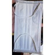 หน้ากากอนามัย ของญี่ปุ่น สีขาว/สีดำ คุณภาพดี 50 ชิ้น / หนา 3 ชั้น ยี่ห้อ BIKEN